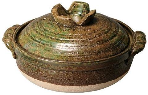 Iron glazed pot
