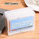 Cotton Swab Double Head Manico in legno Baby Cotton Stick Orecchie Pulizia assistenza sanitaria Cotton Stick Komener