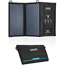 Anker PowerPort Solar Lite (15W 2-Port USB Solar Panel Charger) with PowerIQ Technology and Industry-Leading SUNPOWER Solar Cell for iPhone 6s / 6 / Plus, iPad Air / mini, Galaxy S6 and More