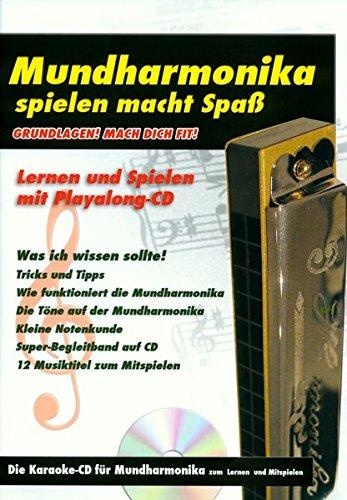 Mundharmonika Grundlagen: Karaoke CD zum Lernen