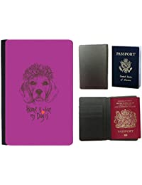 GoGoMobile Hot Style PU Leather Travel Passport Wallet Case Cover // Q07650621 beagle dog Byzantine // Universal passport leather cover