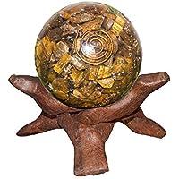Crocon Tiger Eye Reiki Healing Energetische Kristall Kugel Ball mit Ständer für Chakra Balancing Aura Cleansing... preisvergleich bei billige-tabletten.eu