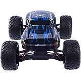 HUKOER 9115 Coche Teledirigido RC , 40km/H 2.4Ghz Coche Super RC Control remoto 1:12 Escala RC Monster Camión Coche todo terreno Vehículo juguete (Azul)