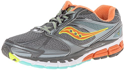 Saucony Guide 8 Women's Scarpe Da Corsa Grey/sunset/citron