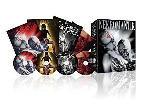 Nekromantik - Todes-Trilogie - limitierte Blu-ray BOX inkl. Der Todesking + Schramm (DVD) - Blu-ray