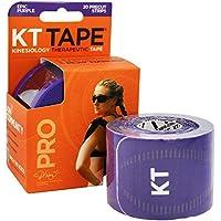 KT TAPE Pro sintético–Cinta de quinesiología, Pro, Unisex, Color Morado, tamaño Talla única