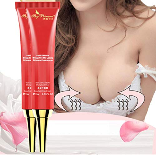 Breast Enhancement, 12shage Herbal Breast Enlargement Cream,Brustvergrößerung Creme Glatte Große Büste Große, kurvige Brust (A)