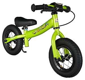 bikestar 10 pouces v lo draisienne pour enfants edition sport couleur vert amazon. Black Bedroom Furniture Sets. Home Design Ideas