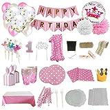 Set de Artículos Accesorios Completo para Decoración Fiestas Cumpleaños bebé...