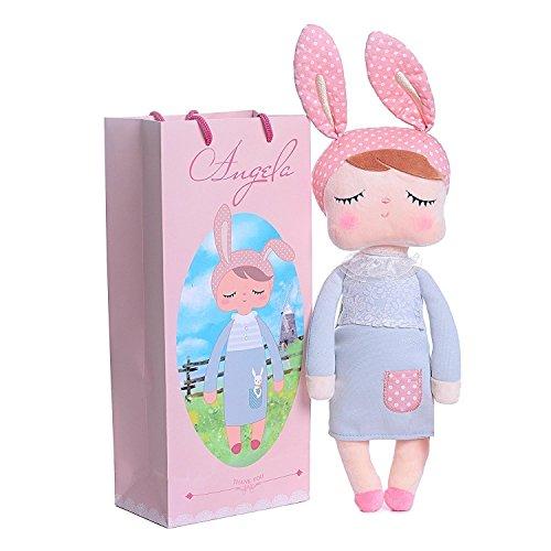 Me Too Angela de couchage Fille Robe en peluche Poupées Jouets Lapin 30,5 cm
