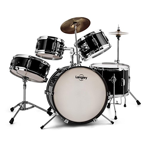 langley-junior-drum-1-kinder-schlagzeug-komplettset-drum-set-inkl-drum-sticks-fur-kinder-von-3-8-jah