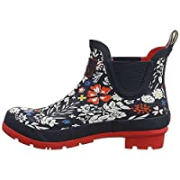 Joules Womens Wellibob Closed Toe Ankle Cold Weather Boots, Blue, Size 7.0 US/5 UK US