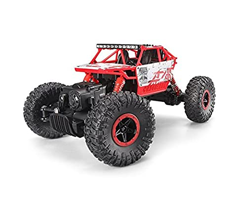 Migoo S600 2.4Ghz RC Rock Crawler 4 WD Monster Truck Off-Road Vehicle Toy Red