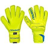 Reusch Kinder Fit Control Pro G3 Ortho-Tec Torwarthandschuhe, Lime/Safety...