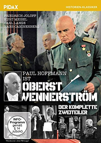 Oberst Wennerström / Der auf Tatsachen beruhende komplette Krimi-Zweiteiler (Pidax Serien-Klassiker)