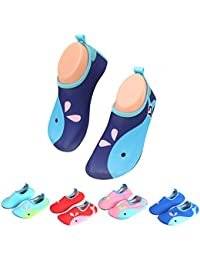 Zapatos para Niño Niña Zapatos de Playa Bebe Zapatillas de Piscina Escarpines  Calzado para Agua f7cf6fd4461