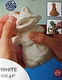 Do & Dry Modelliermasse -lufttrocknend- 500g Weiss Kinder Basteln 12,34€/kg