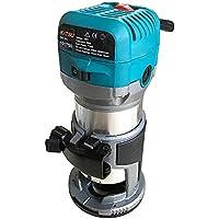 KATSU 101750 Fresatrice per giunzioni rifilatore elettrico a mano per legno laminati 220V 6mm, 8mm, 10mm