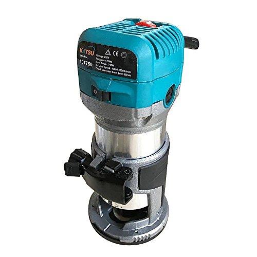 KATSU 101750 Fresatrice per giunzioni rifilatore elettrico a mano per legno laminati...