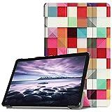 Custodia in Pelle Beisoug Elegante con Tre Pieghe per Samsung Galaxy Tab A2 T595 da 10.5 Pollici