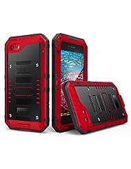 """Kukul Profesional Impermeable Bucear Funda Para iphone 6 plus/6s Plus 5.5"""" (Rojo)"""
