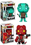 Funko POP! Hellboy: Abe Sapien + Hellboy – Stylized Comic Book Vinyl Figure Set NEW