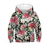 i-uend 2019 Jungen Mantel - Teen Kids Girl Boy Print Zip Up Hoodie Lässige Pullover Mit Kapuze Sweatshirt Jacke Taschen Für 4-13 Jahre