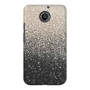 DailyObjects Gatsby Nude Black Case For Motorola Moto X2