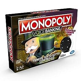 Hasbro Monopoly – Voice Banking (Gioco in Scatola Elettronico)