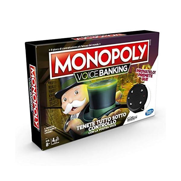 Hasbro Monopoly - Voice Banking (Gioco in Scatola Elettronico) 1 spesavip