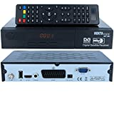 HD Sat Receiver digitaler Satelliten-receiver N0KTA-1461 HD [vorprogrammiert für Astra