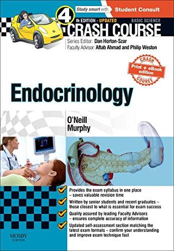 Crash Course Endocrinology: Updated Print + E-book Edition, 4e by O'Neill MBChB, Ronan, Murphy MBChB (Hons), Richard (2015) Paperback