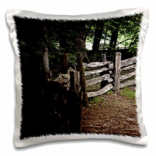WhiteOaks Photography and Artwork - Nature Scene - A Homestead Yard is a photo taken in the Smokey Mountains - 16x16 inch Pillow Case (pc_192969_1)