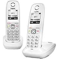 Gigaset - Telefono dect as405 duo whi
