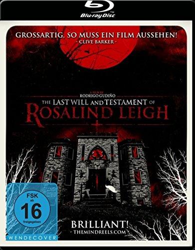 Preisvergleich Produktbild The Last Will and Testament of Rosalind Leigh [Blu-ray]