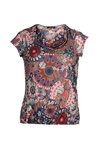 Paprika Damen große Größen T-Shirt mit Mandala-Aufdruck Multi