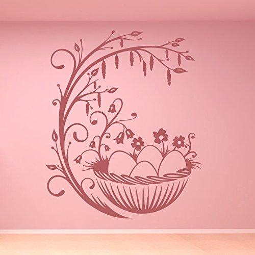 uova-di-pasqua-e-ramo-di-pasqua-decorativo-wall-stickers-stagionale-decor-art-stickers-disponibile-i
