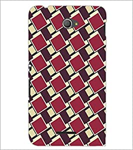 PrintDhaba Pattern D-5267 Back Case Cover for SONY XPERIA E4 (Multi-Coloured)