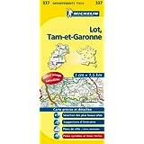 Carte DPARTEMENTS Lot, Tarn-et-Garonne
