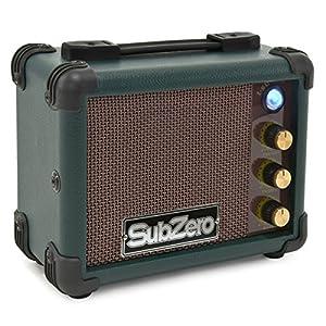 SubZero Micro Amp per Ukulele verde vintage