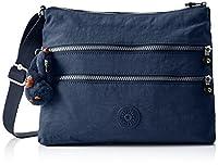 Kipling Women's Alvar Cross-Body Bag, Blue (42W Alaskan Blue), 33 X 26 cmX4.5CM (B x H x T)