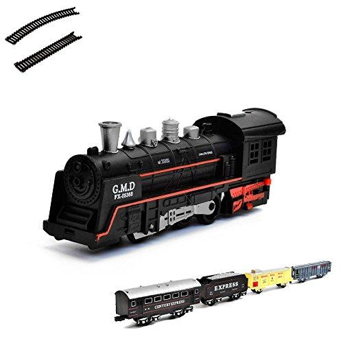 HSP Himoto Eléctrico de ferrocarril Starter Set, Tren, locomotora de vapor, Simulación...