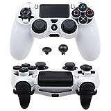 Pandaren Ultra Rüstung Gang FPS Schale für PS4 Controller (Weiß)