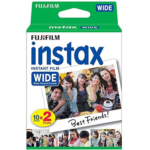 Fujifilm 16026642Instax Wide Film Twin Pack (Multi) Polaroid Kamera Film Wide