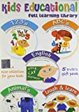 Kids Educational Set - 1 (Set of 5 DVDs-...
