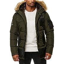 Suchergebnis auf für: Parka Jacke mit Kapuze, khaki
