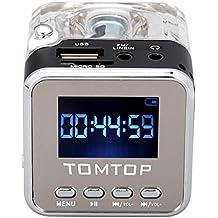 Andoer Mini Digital Music portatile di MP3 / 4 Player Micro SD / TF USB Speaker Disk Radio FM