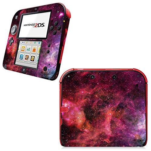 uushop Haut Aufkleber Vinyl Aufkleber Cover für Nintendo 2DS System Konsole-Galaxy Nebular