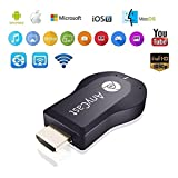#4: Anytech Anycast TV Stick, AnyCast 1080P WiFi Wireless Mini Display Receiver Dongle HDMI TV Miracast DLNA Airplay for All Smartphones