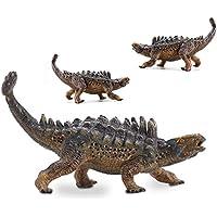 LU2000 Simulación sólida modelo dinosaurio Ankylosaurus plástico animales juguetes colección de dinosaurios ...